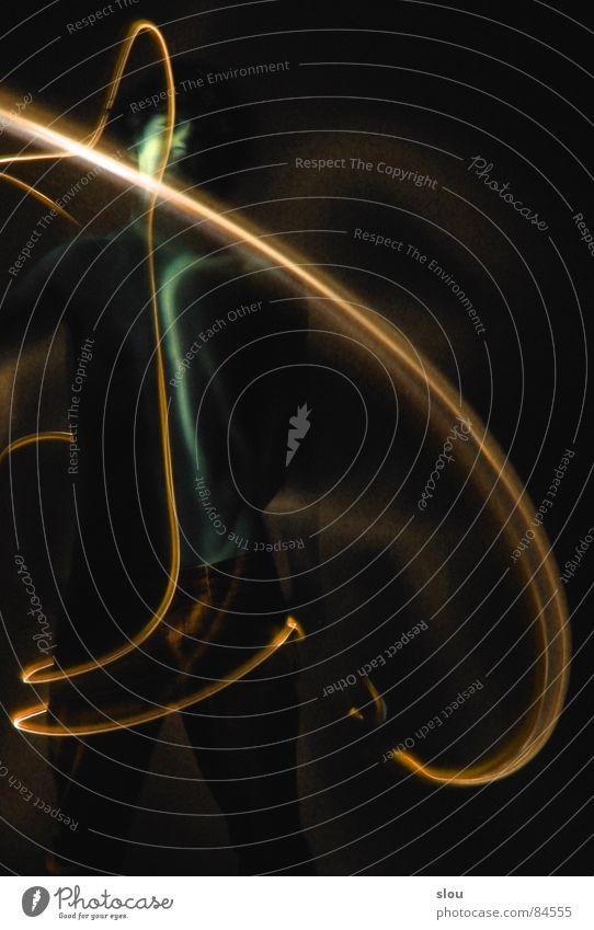Glühwürmchen hat n Drehwurm 8 Leuchtdiode Schwindelgefühl Extremsport
