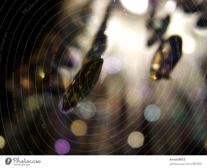 funky glitter II Stein Musik Lampe hell Beleuchtung elegant glänzend Club Konzert Reichtum hängen Kette edel Kristallstrukturen zierlich erhaben