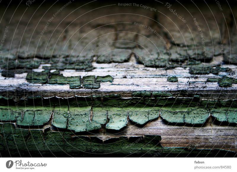BRETT MIT RÜSCHEN alt grün Farbe Fenster Holz Farbstoff Tür Wetter Klima Streifen Flügel trocken Tor Möbel Eingang Holzbrett