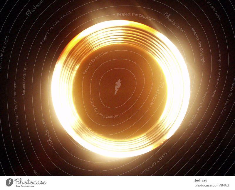 O-Saft leuchtend gelb Glas Taschenlampe Fototechnik