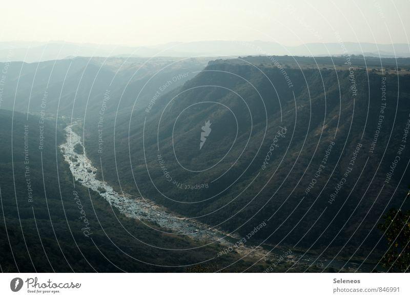Oribi Gorge Ferien & Urlaub & Reisen Tourismus Ausflug Abenteuer Ferne Freiheit Sommer Umwelt Natur Landschaft Himmel Horizont Felsen Berge u. Gebirge Schlucht