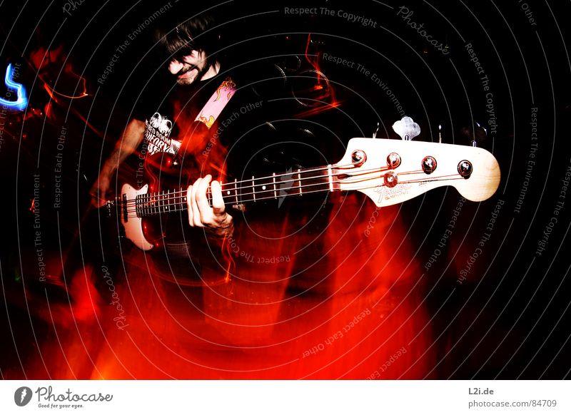 FOREVER FALLING IV Konzert Show Musik live Screamo Hardcore Großbritannien Aktion Licht Fischauge Zombie Stil Gefühle Piercing laut concert Schnur Kontrabass