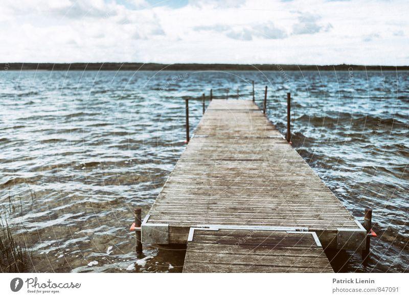 Naturbad Himmel Ferien & Urlaub & Reisen Sommer Sonne Landschaft Wolken Ferne Umwelt Leben Lifestyle Freiheit Schwimmen & Baden See Stimmung Zufriedenheit