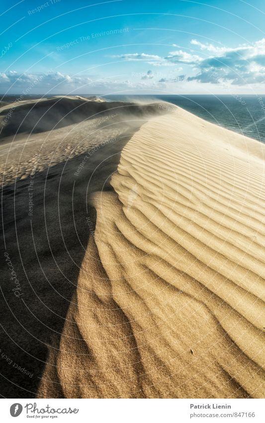 Rubjerg Himmel Natur Ferien & Urlaub & Reisen Erholung ruhig Wolken Ferne Umwelt Wärme Freiheit Sand Wetter Wellen Zufriedenheit Wind Tourismus