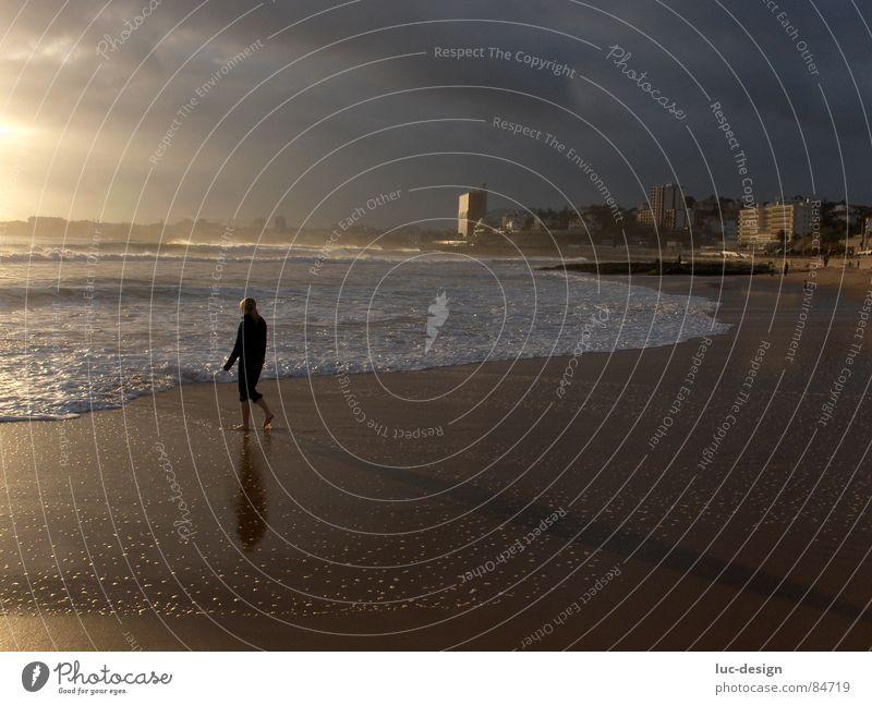 Neujahrstag in Estoril (Lissabon) Wasser Himmel Meer Strand Stimmung Küste