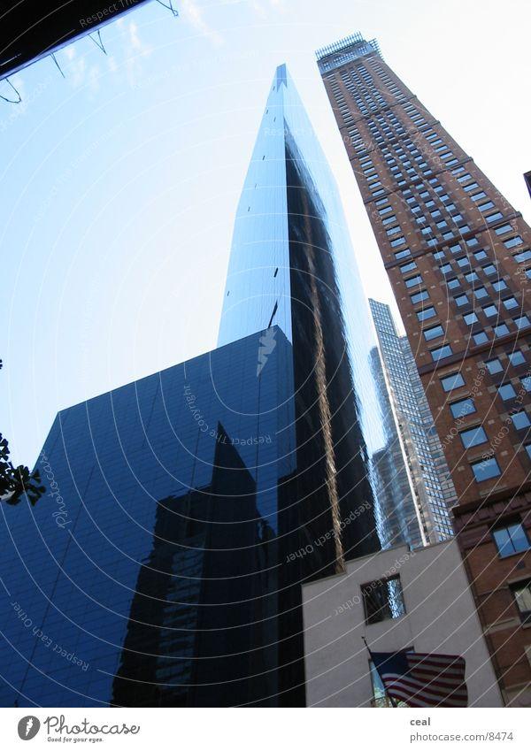 New York buildings Architektur Glas Hochhaus New York City