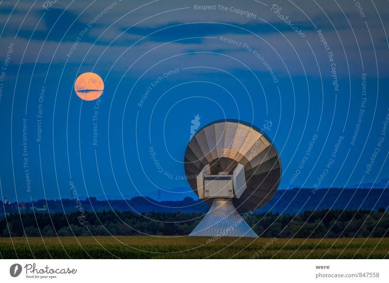 Lauschangriff Technik & Technologie Wissenschaften Fortschritt Zukunft High-Tech Telekommunikation Informationstechnologie Raumfahrt Mond Vollmond Neugier