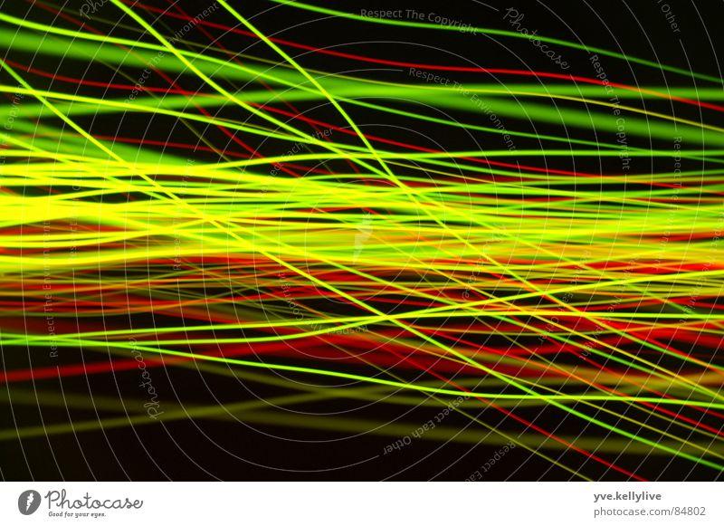 Lichtspiele 4 grün rot schwarz gelb Lichtspiel Informationstechnologie