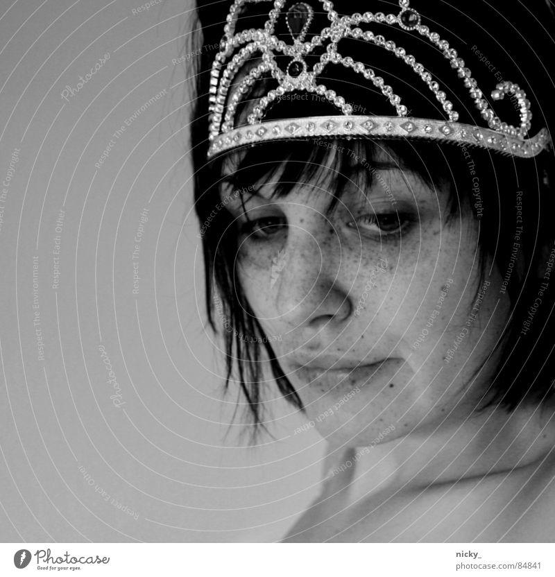 drama queen Frau Gesicht Baumkrone König Prinzessin