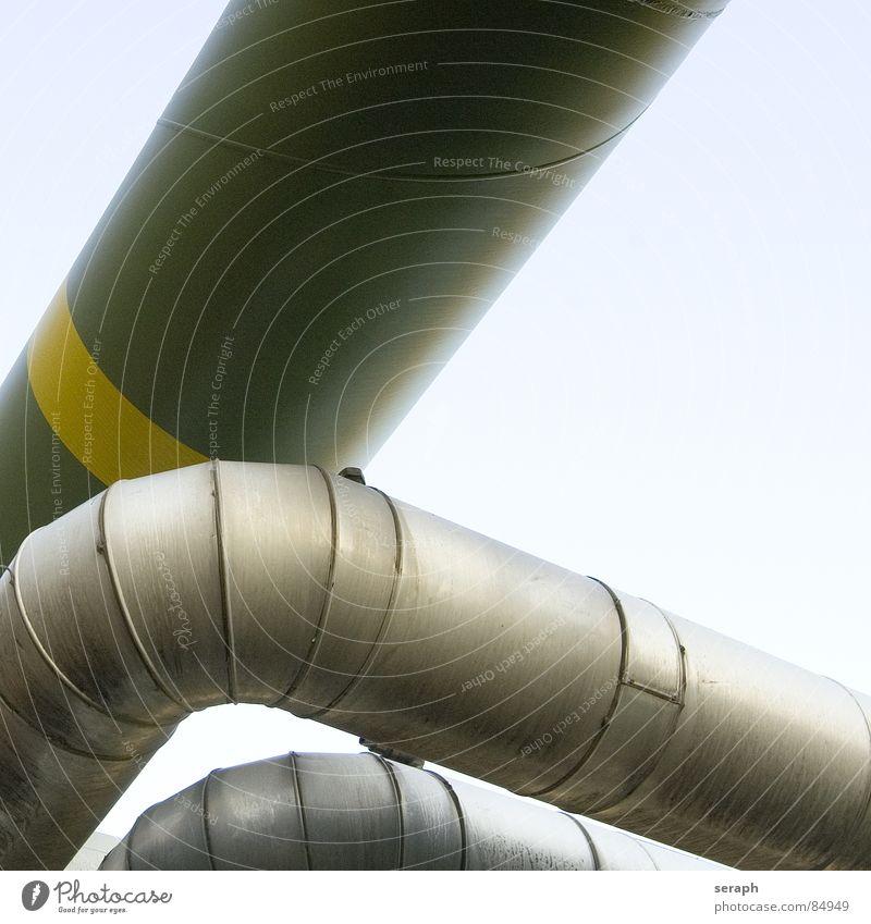 Pipeline Wärme Architektur Metall Energiewirtschaft Technik & Technologie Industrie Röhren Konstruktion Eisenrohr Erdöl Rohrleitung Gas Leitung Benzin