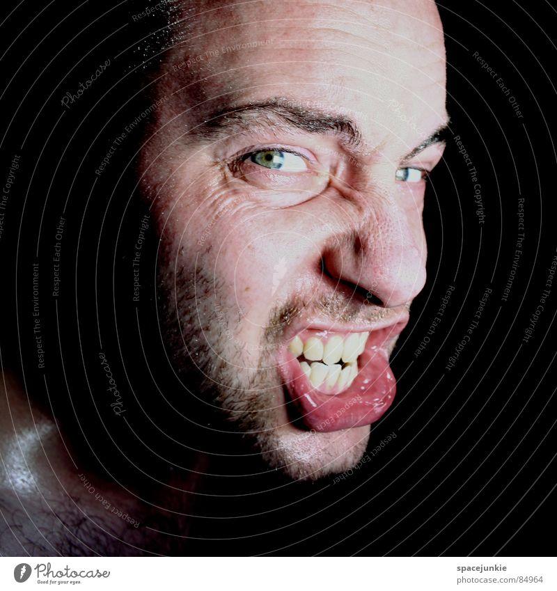 Anger (2) Mensch Gesicht Wut böse Freak Ärger Aggression Rüpel herzlos Biest unfair Grobian Choleriker