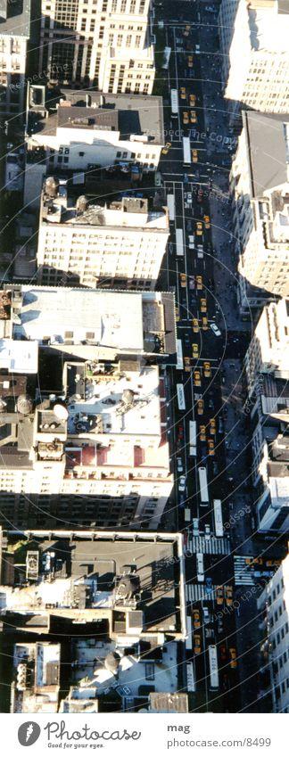 NY City New York City Vogelperspektive Hubschrauber Luftverkehr Häuserschlucht zu Luft