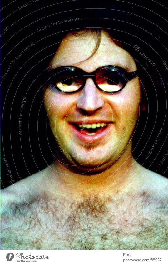 schorsch Freude lustig Zufriedenheit Glas Fröhlichkeit Brille beweglich Witz Unbeschwertheit Ausgelassenheit Spaßvogel Sonnenaufgang Humor Menschenfreund
