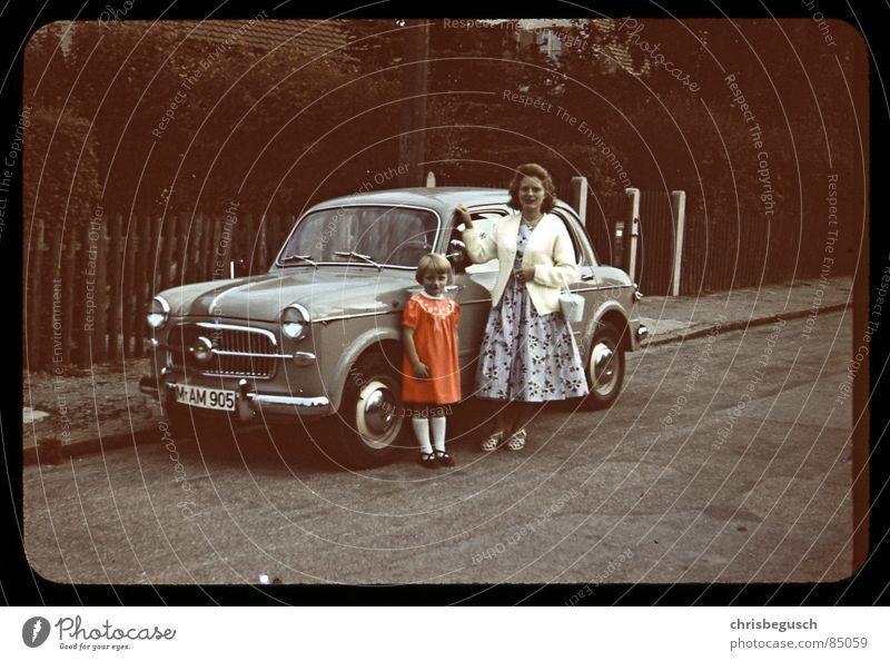 my grandmothers car retro München früher Oldtimer Dia Bayern