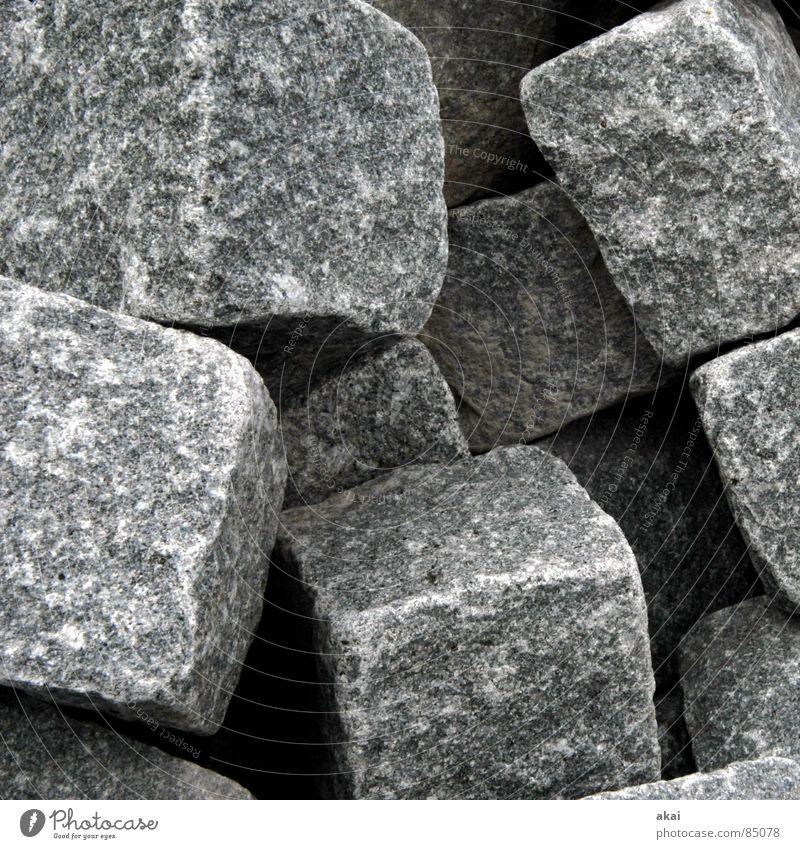 Hart wie Granit 1 Stein Sand Kunst Erde Stapel Würfel Haufen Mineralien Kunsthandwerk Quader Steinhaufen
