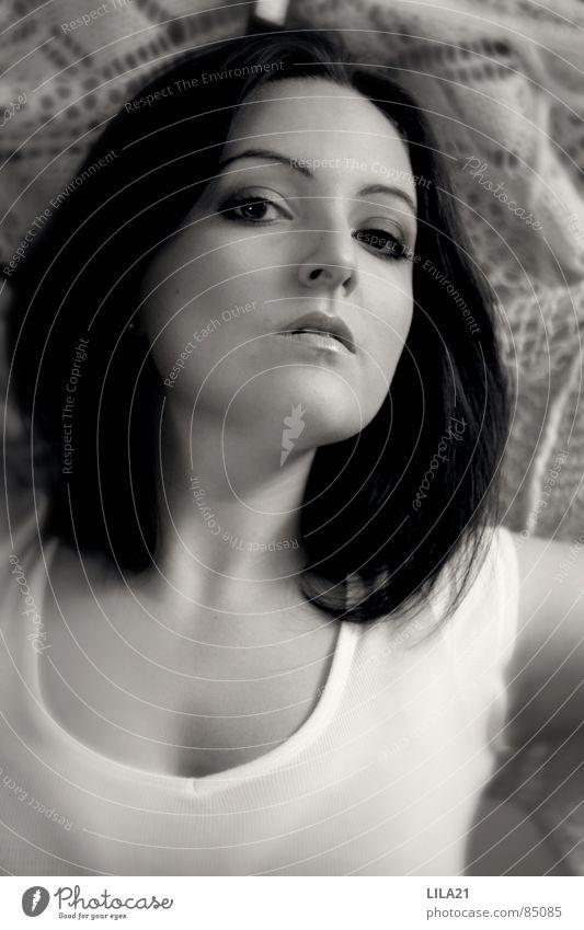 Traumtänzer Frau träumen Tanzen Dynamik langhaarig Tuch Auslöser Mensch