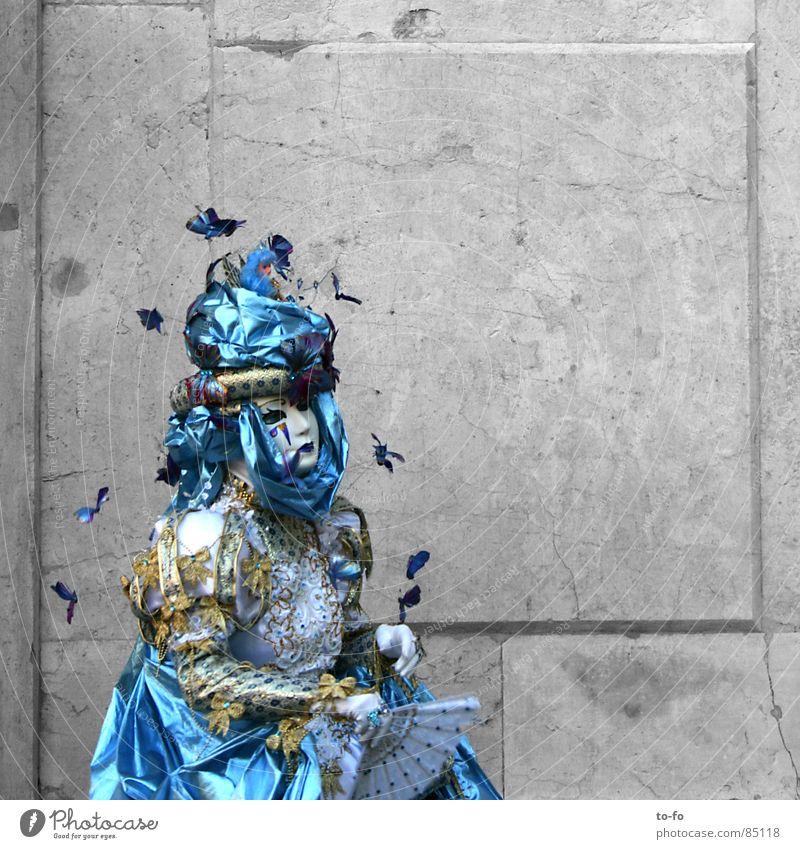 Carnevalistin Spielen Italien Maske Vergänglichkeit Karneval geheimnisvoll verstecken Karnevalskostüm Venedig Rätsel