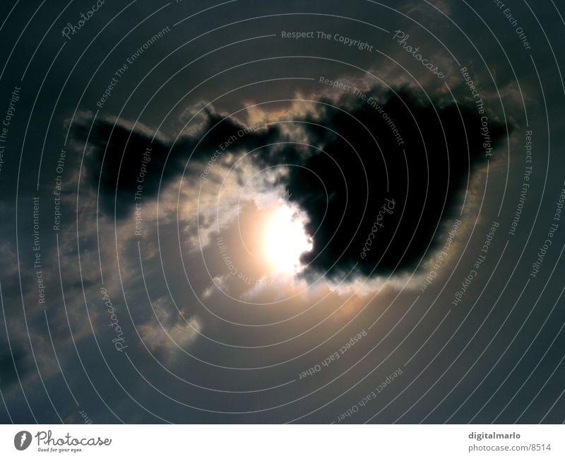 Wolkenhammer Himmel Sonne Luft