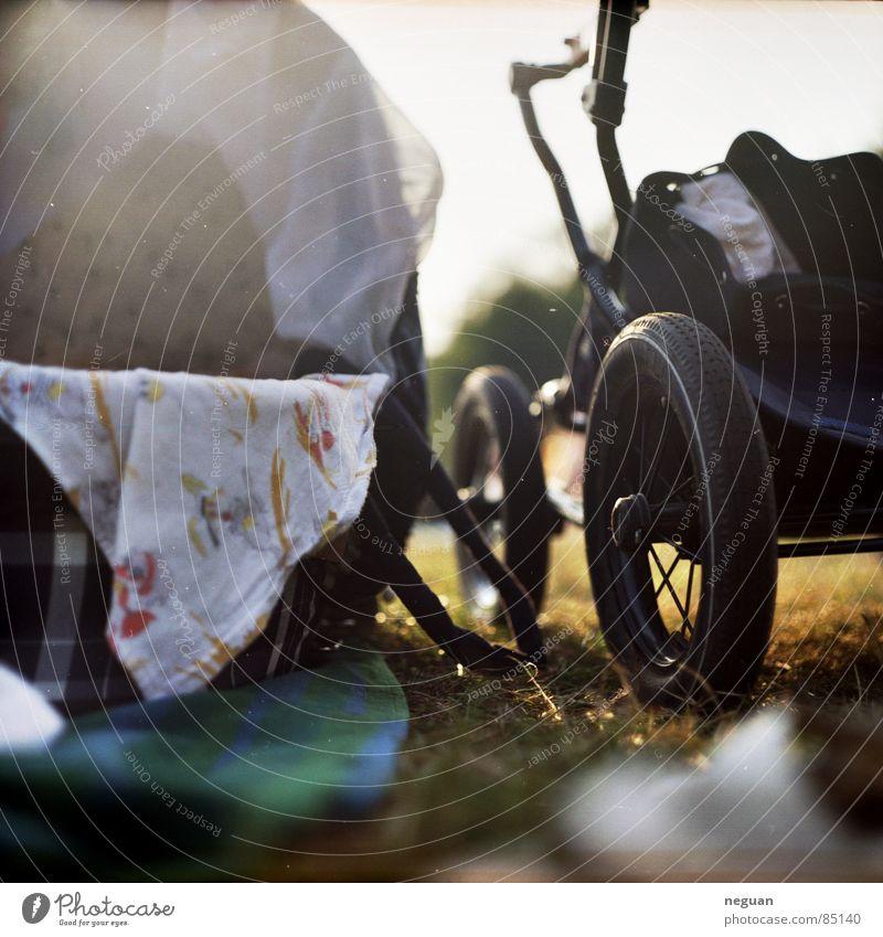 summer Natur Sommer Ferien & Urlaub & Reisen Erholung Freizeit & Hobby Stoff Rad Picknick Decke Tuch Korb Gummi Kinderwagen