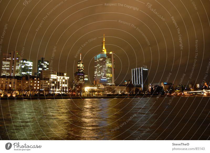 Frankfurt Hochhaus Skyline Frankfurt am Main