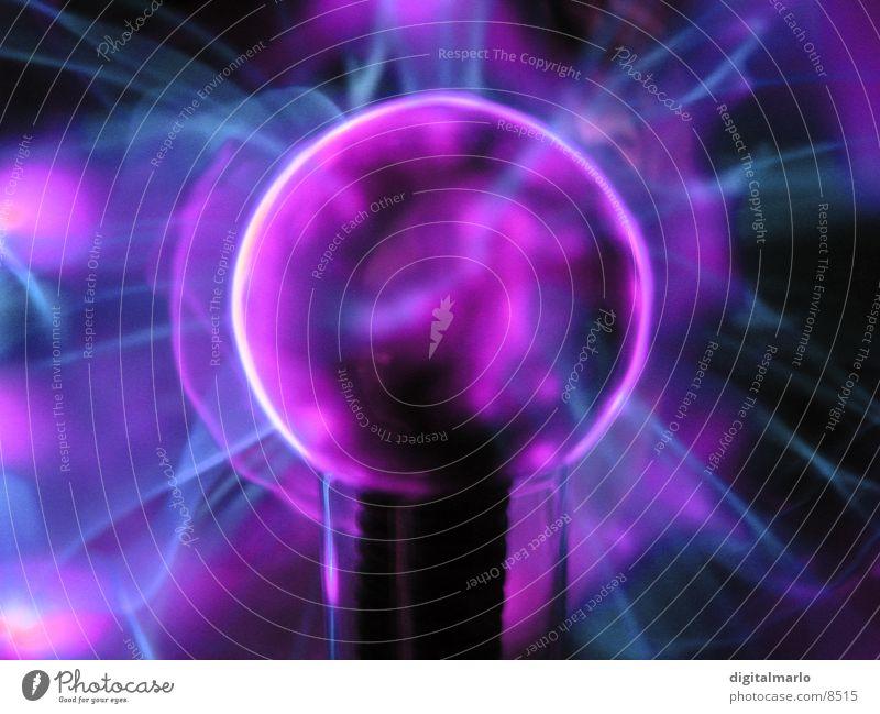 plasmakugel Hand Elektrizität Häusliches Leben Kugel