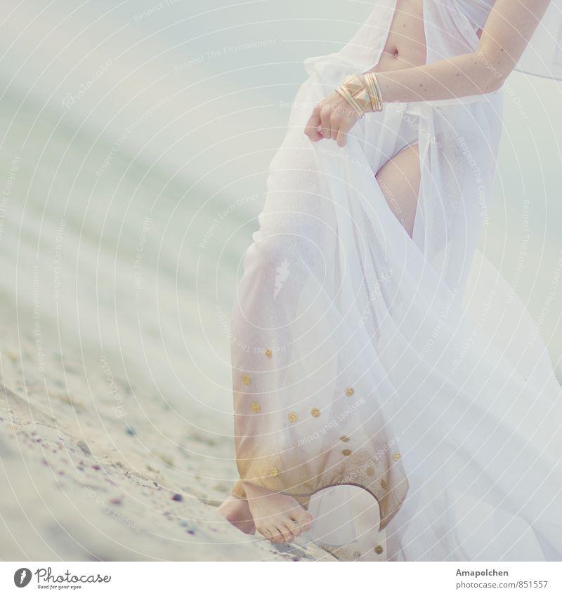 ::14-32:: Mensch Frau Kind Ferien & Urlaub & Reisen Jugendliche schön Sommer Meer Junge Frau ruhig Strand 18-30 Jahre Gesunde Ernährung Erwachsene Leben