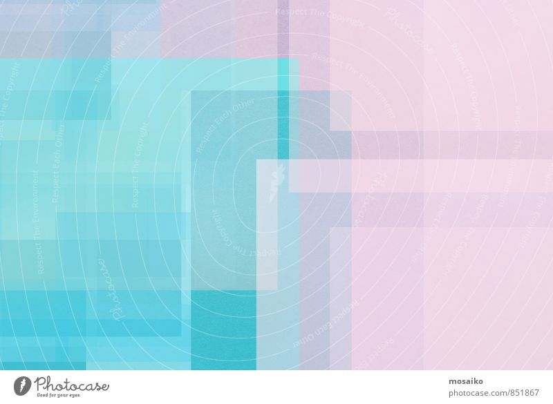 bunte quadrate blau ruhig Gefühle Stil Hintergrundbild Lifestyle Feste & Feiern Stimmung Business hell rosa Design Büro elegant ästhetisch Hinweisschild