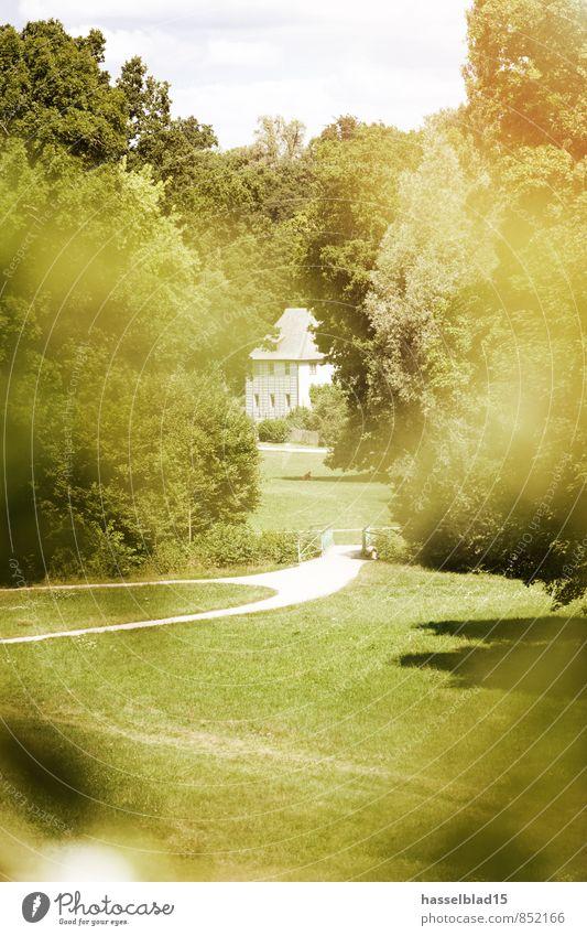 Goethes Laube... Ferien & Urlaub & Reisen Sommer Erholung ruhig Freude Haus Ferne Glück Freiheit Garten Wohnung Häusliches Leben Tourismus Ausflug Abenteuer