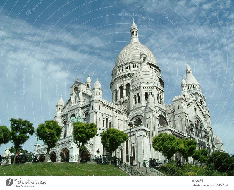 Basilique du Sacré-Cœur Kirche Paris Montmartre Gotteshäuser church churches Sakralbau sakralbauten