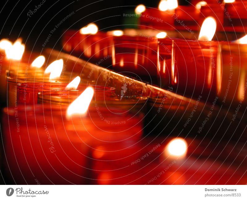 Ich wünsch dir was! Kerze Licht erinnern Wunsch Hoffnung Trauer Dinge Flamme Religion & Glaube Wärme