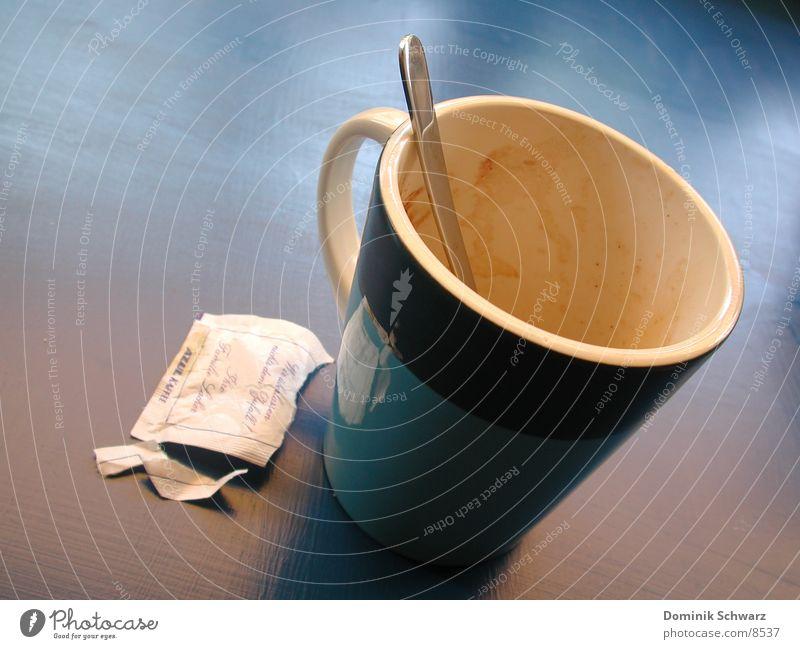 Black Coffee Sommer Erholung Suche Energiewirtschaft Pause Dorf Zucker Löffel Geschirrspülen
