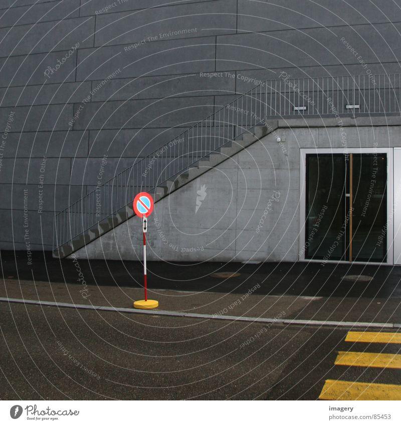 No Titel Zebrastreifen Wechseln Streifen Gebäude Verkehrswege Vertrauen Farbe berqueren traffic signal Straße Treppe forward-looking warning signal modernistic