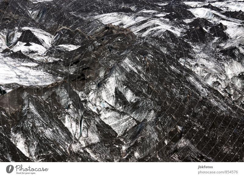 Sólheimajökull Natur Pflanze Wasser Sommer Einsamkeit Landschaft kalt Umwelt Berge u. Gebirge Bewegung Schnee Freiheit Stimmung Freizeit & Hobby Eis elegant