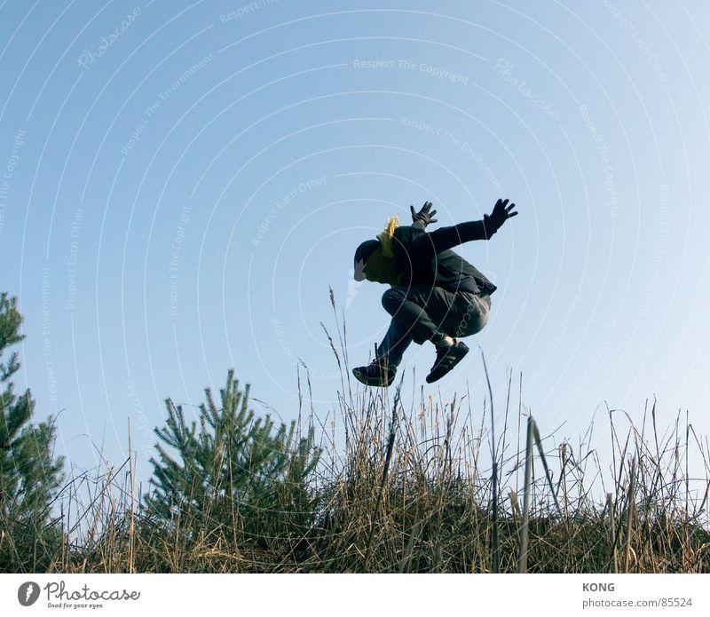 grau™ fliegt im sonntagsanzug Natur Himmel Pflanze Freude gelb springen grau Business Umwelt fliegen Geschwindigkeit Luftverkehr Maske Anzug Halm Karnevalskostüm