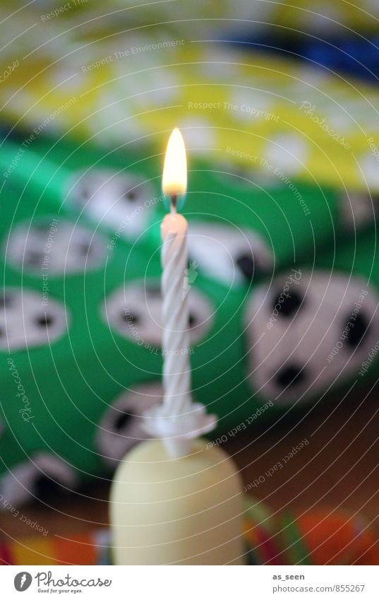 Jungengeburtstag Weihnachten & Advent grün weiß gelb Wärme Junge Glück Feste & Feiern leuchten Geburtstag Kindheit Fröhlichkeit ästhetisch Lebensfreude Fußball Papier