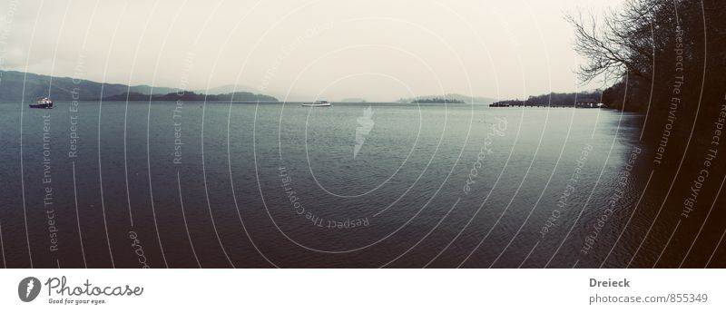 Highland Waters Ferien & Urlaub & Reisen Ausflug wandern Umwelt Natur Landschaft Wasser Herbst schlechtes Wetter Berge u. Gebirge Küste Seeufer Flussufer