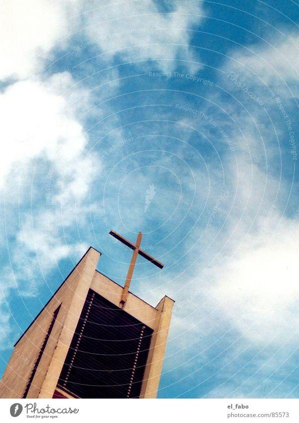 glaube liebe hoffnung bla Götter Siegburg Physik Gotteshäuser Religion & Glaube unhold Ekel sonntag mittag Rücken Wärme Sonne Himmel