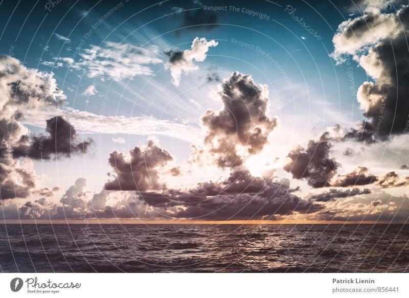 The Great Gig in the Sky VI Umwelt Natur Landschaft Urelemente Luft Himmel Wolken Gewitterwolken Sonne Sonnenlicht Klima Wetter Schönes Wetter Unwetter Wind