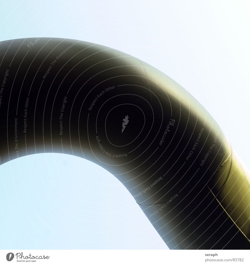Pipeline Erdgaspipeline Erdölpipeline Röhren Eisenrohr Gasleitung Industrie Fernwärme Energie Energiewirtschaft Ressource Tankstelle tanken auftanken Biegung