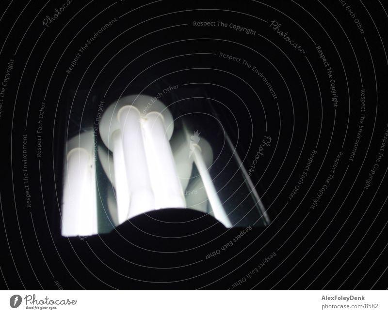 Energiesparlampe weiß Lampe Schreibtischlampe