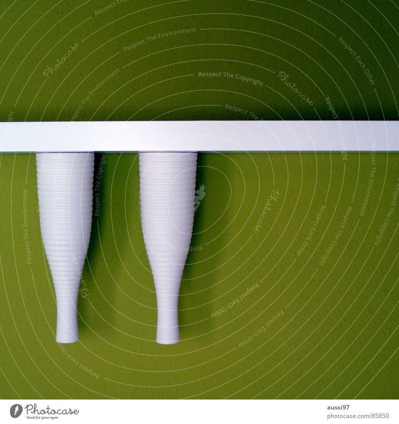 Regal auf 180° grün verrückt Dekoration & Verzierung Stillleben Vase Schlafzimmer