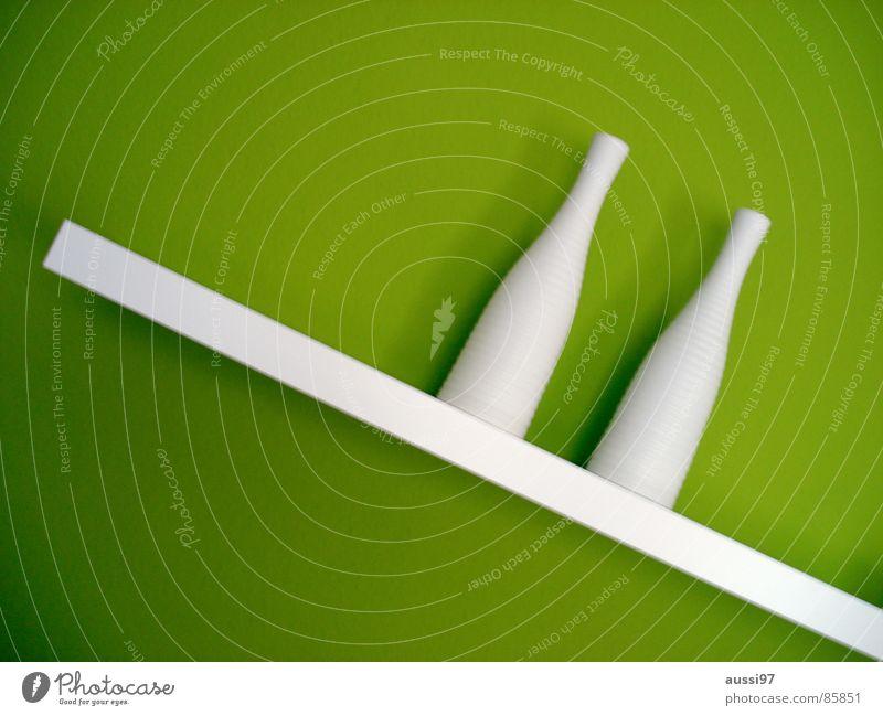Regal auf -45° grün verrückt Dekoration & Verzierung Stillleben Vase Schlafzimmer