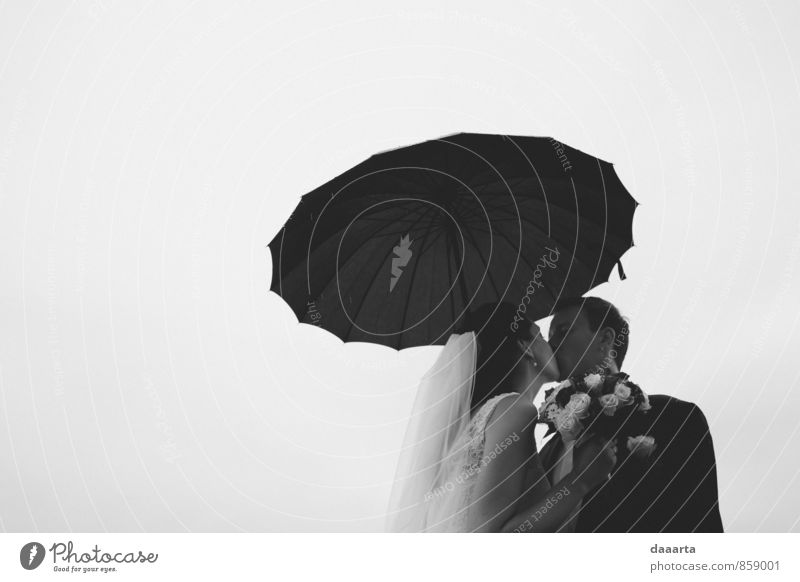 Regen elegant Stil Freude Leben harmonisch Erholung Freizeit & Hobby Veranstaltung Feste & Feiern Hochzeit Familie & Verwandtschaft Freundschaft Paar Partner 2