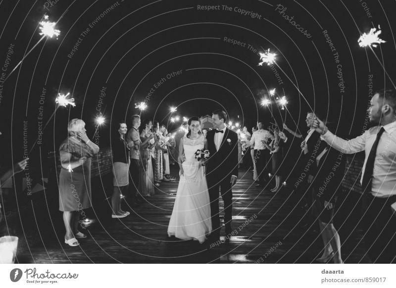 Mitternacht elegant Stil Freude Leben harmonisch Erholung Abenteuer Entertainment Veranstaltung Hochzeit Familie & Verwandtschaft Freundschaft Paar Partner