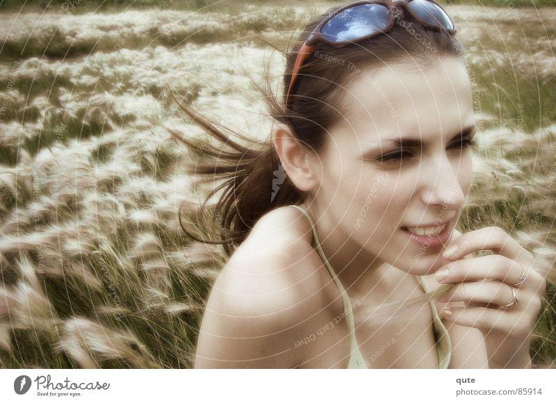 Lene Fräulein Waldwiese Pfriemengras Frau Ground Wind sunglasses