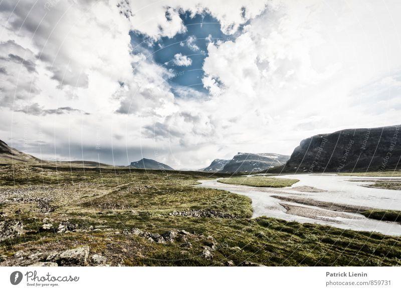 Weite Welt Natur Wasser Sommer Sonne Erholung Landschaft Wolken Umwelt Berge u. Gebirge Wetter Zufriedenheit wandern Schönes Wetter Urelemente Sicherheit Gipfel