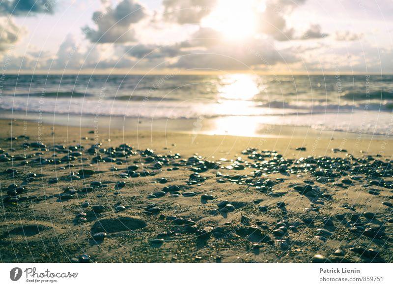 Strandtag Lifestyle Ausflug Abenteuer Ferne Freiheit Sommer Sonne Sonnenbad Meer Insel Umwelt Natur Landschaft Urelemente Wasser Himmel Wolken Sonnenaufgang