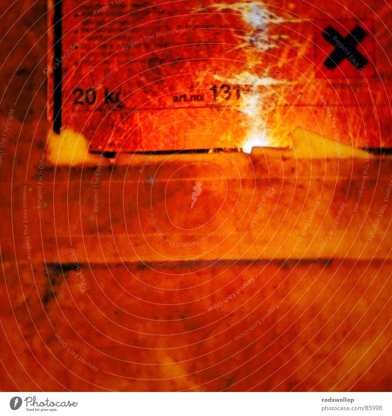 Mr. Hyde rot orange Angst gefährlich gut Wissenschaften Warnhinweis böse durcheinander Versuch Etikett Mord Warnschild