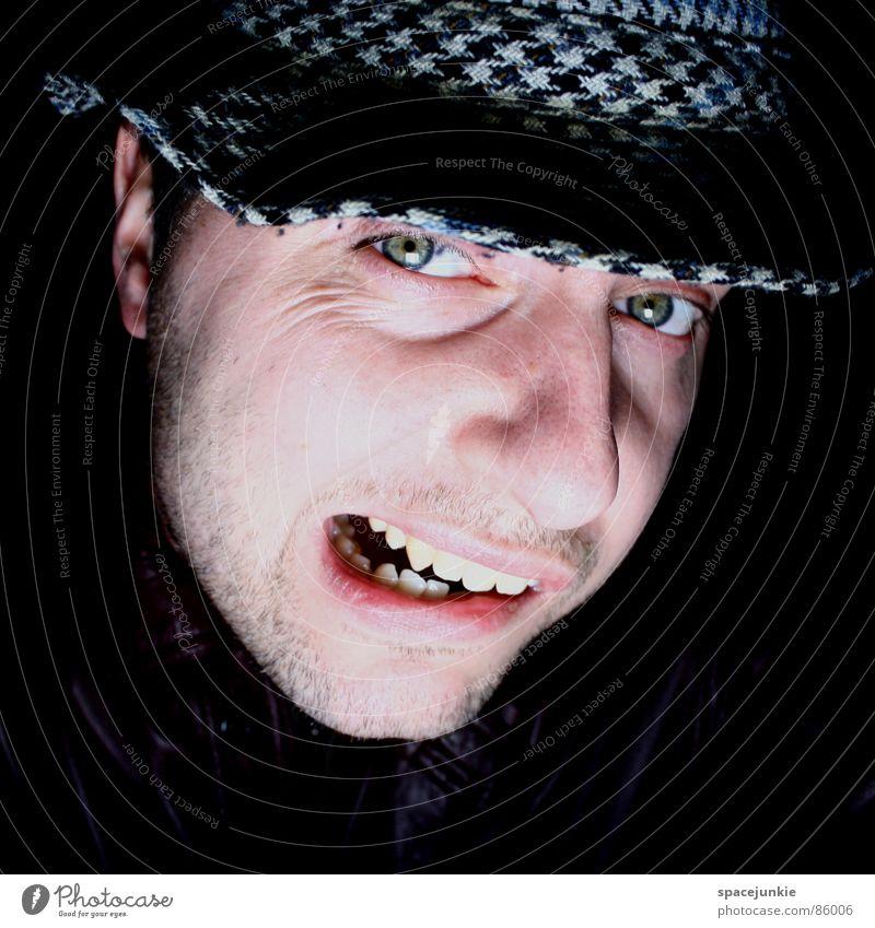 Hmmm (2) Porträt Denken Gedanke Jacke Lederjacke Spitzel Junger Mann Geistesabwesend Freude Idee in gedanken woanders monolog führen