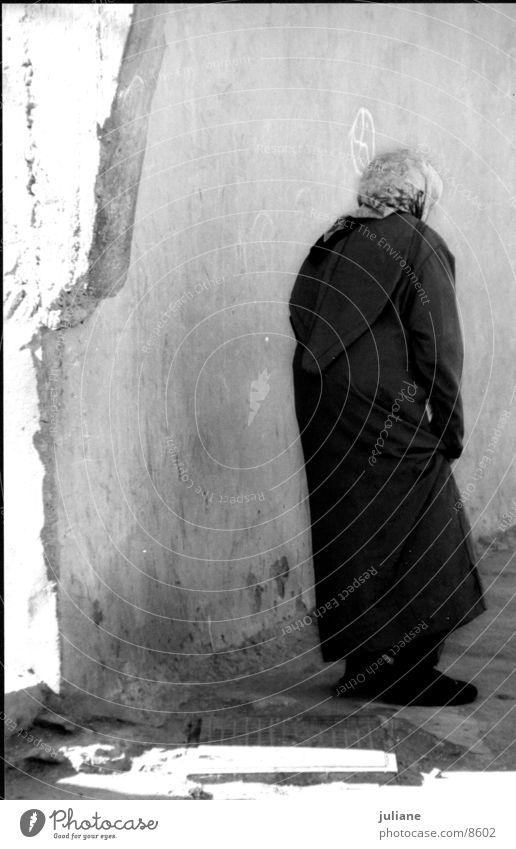 Marokkanerin Frau Wand Kultur Marokko